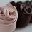 Thumbnail: Dresuri din lână moaleși fină - roz pudrat