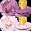 Thumbnail: Set suzete Bibs - lavender & baby pink