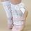 Thumbnail: Șosete scurte croșetate, cu fundă, din bumbac - albe