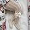 Thumbnail: Dresuri croșetate cu fundiță - albe