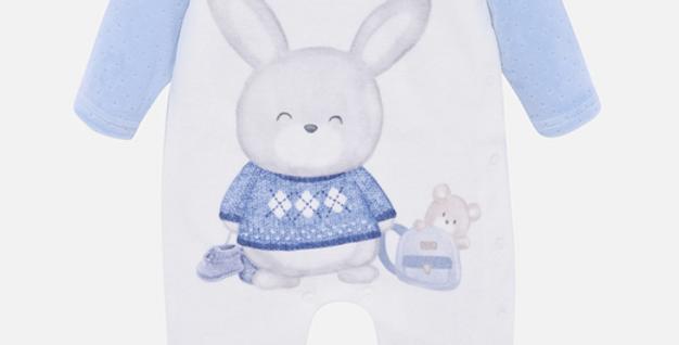 Pijama lungă iepuraș