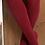Thumbnail: Dresuri din bumbac cu striații - roșu cireașă