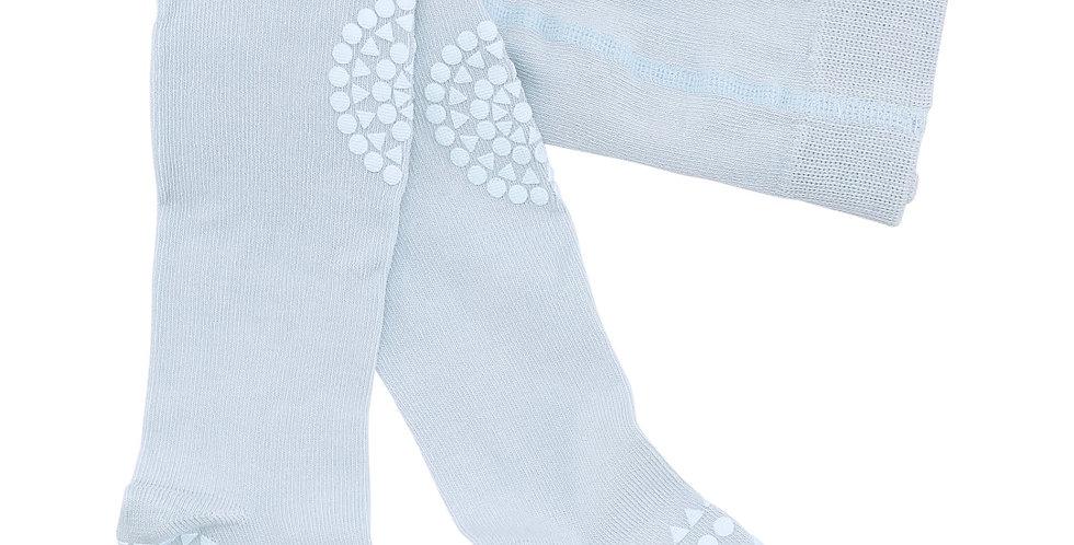 Ciorapi anti-alunecare din bumbac - bleu ciel