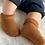 Thumbnail: Șosete scurte lână pufoasă - în diverse nuanțe
