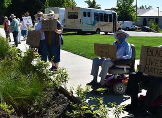 Oak Grove senior citizens rally for Black Lives Matter