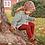 Thumbnail: Dresuri din bumbac călduros, croșetate lateral - ruby