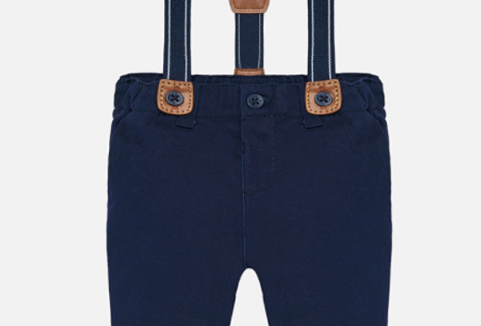 Pantaloni lungi cu bretele