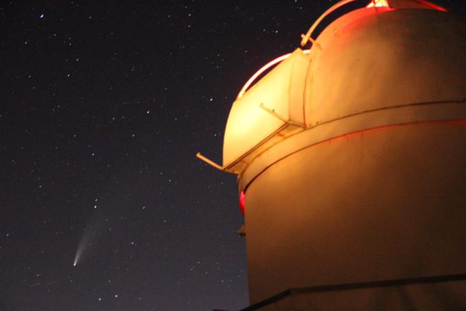 Les photos de la grande comète de 2020 NEOWISE à Planète Tarn le 19 juillet!!