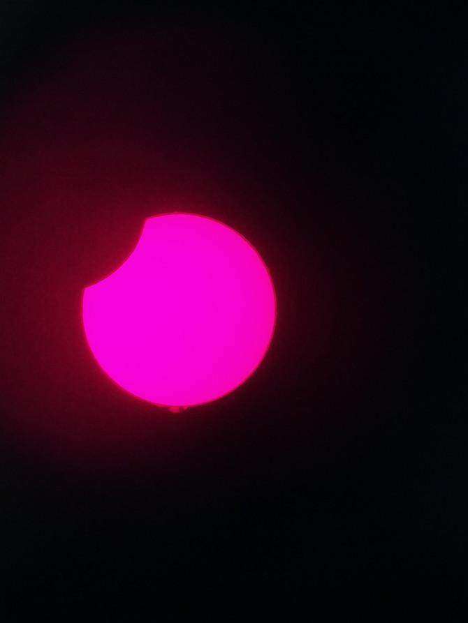 Les images de l'éclipse partielle de Soleil du 10/06/2021 à Planète Tarn