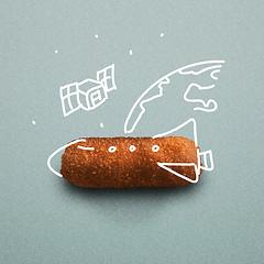 Missile crocchè - art is everywhere