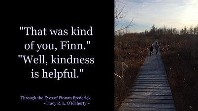 Tracy O'Flaherty - Meme - Kindness is Helpful