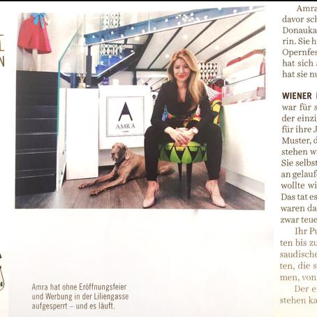 """""""DIE PRESSE - Schaufenster"""" Portrait about ME & WIENER KARO SIGNATURE"""