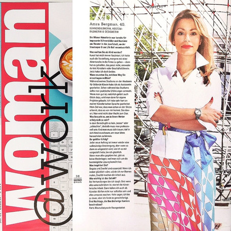 ALL ABOUT AMRA @ WOMAN MAGAZINE Special