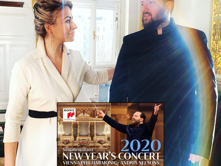 THE NEW YEAR'S CONCERT 2020 | MAESTRO ANDRIS NELSONS' special Jumper-Suit concepted by AMRA BERGMAN