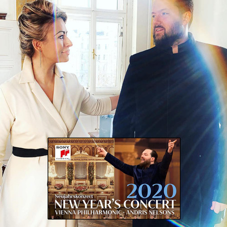 THE NEW YEAR'S CONCERT 2020   MAESTRO ANDRIS NELSONS' special Jumper-Suit concepted by AMRA BERGMAN