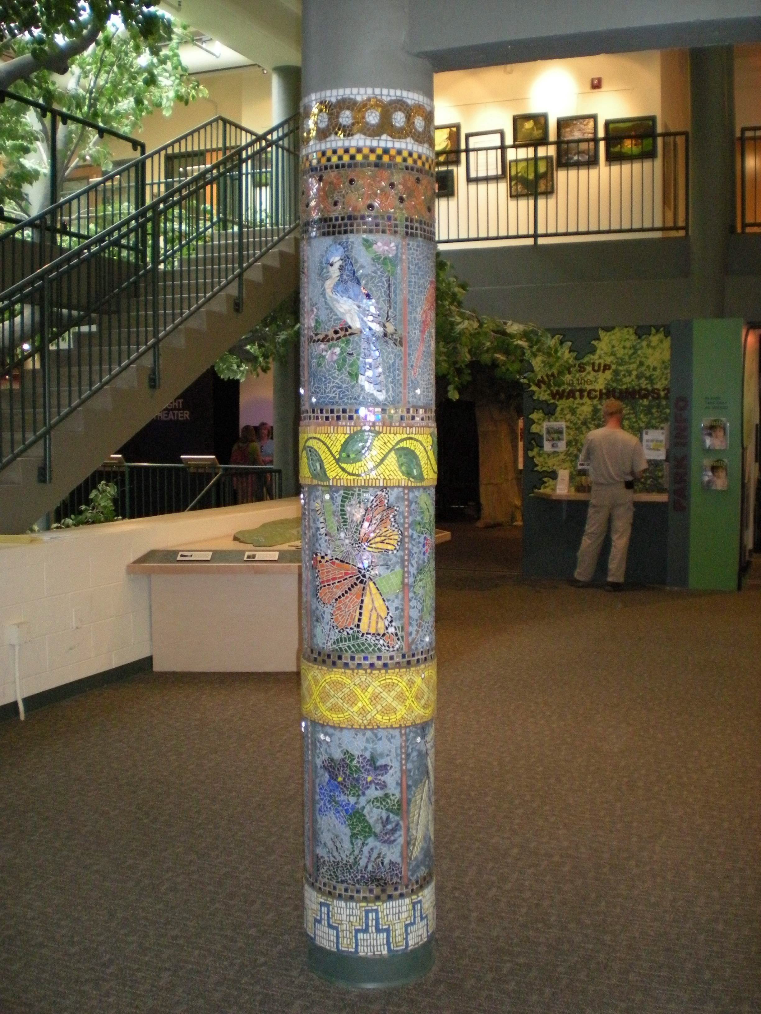 Trailside Column Mural