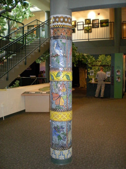 Trailside Column Mural