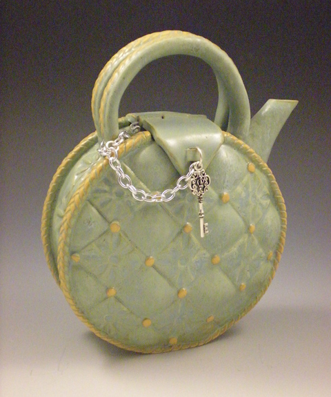 Hinged Key Teapot