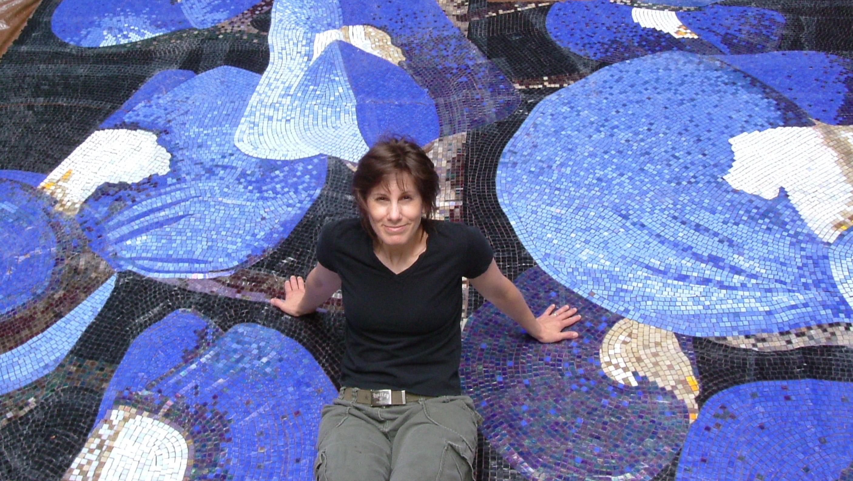Texas Bluebonnet Mural