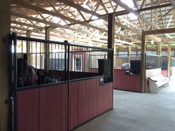 Stalls in several sizes