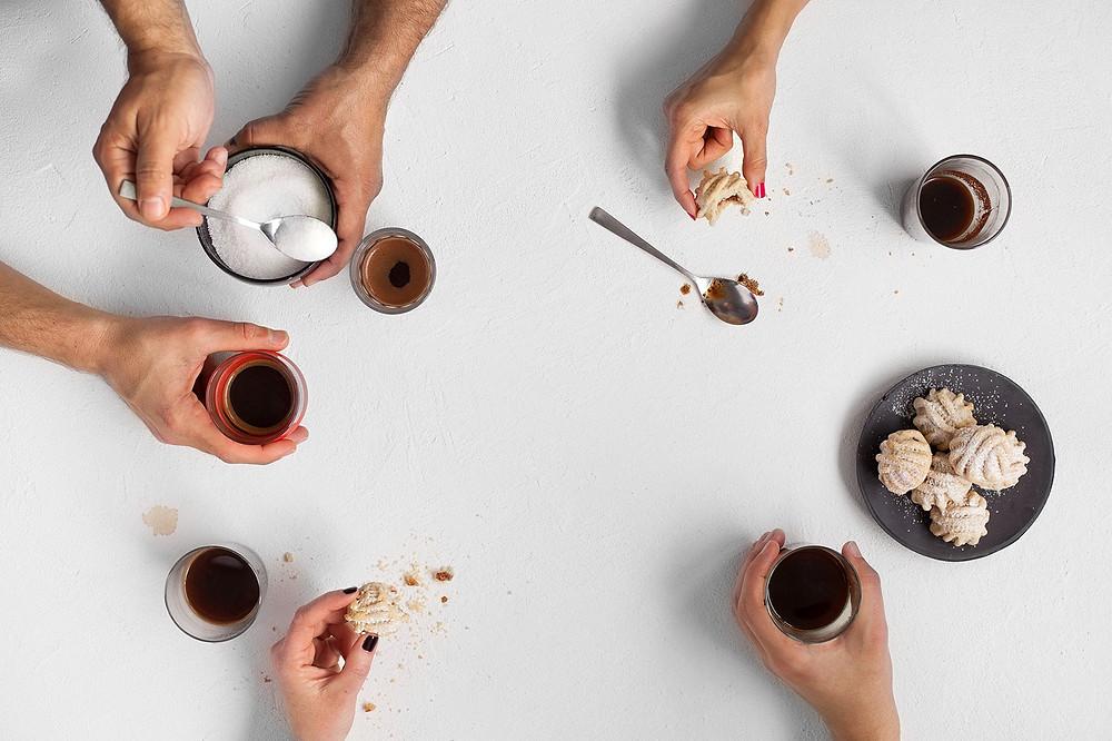 קפה טורקי שפה חזותית