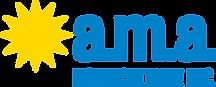 AMA Hort-Logo_Horiz_Process Blue & Yello