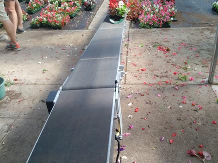 Al's Flower Pouch production