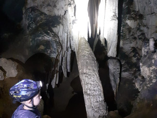 Cavernas no interior de SP - Parque Petar