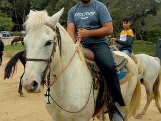 Cavalgada em Araquari - Passeio a cavalo do Rio do Morro