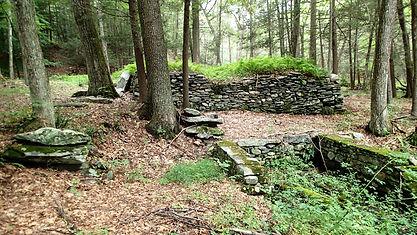 Hammond Mill-upper mill wheel pit founda
