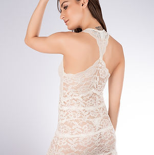 Fortuna Lace Racer Back Chemise