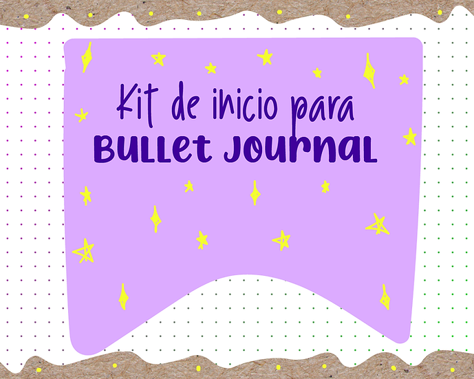 Kit de inicio para Bullet Journal