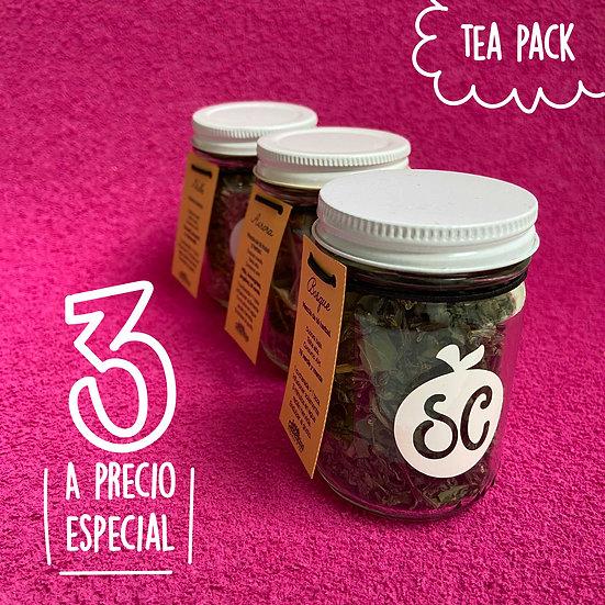 Tea Pack 3 (3 mezclas a elegir)