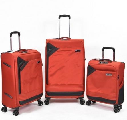 סט מזוודות שלזינגר אדום
