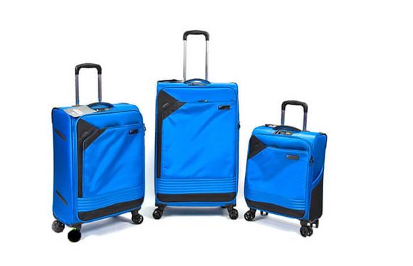 סט מזוודות שלזינגר כחול