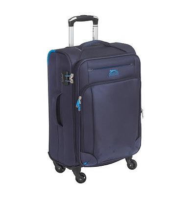 מזוודה כחולה וחזקה slazinger derby
