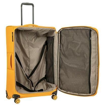 big luggage 29 inch מזוודה גדולה וקלה 29 אינץ צהובה