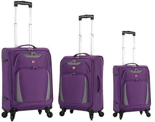 travelito  סט מזוודות 3 יחידות