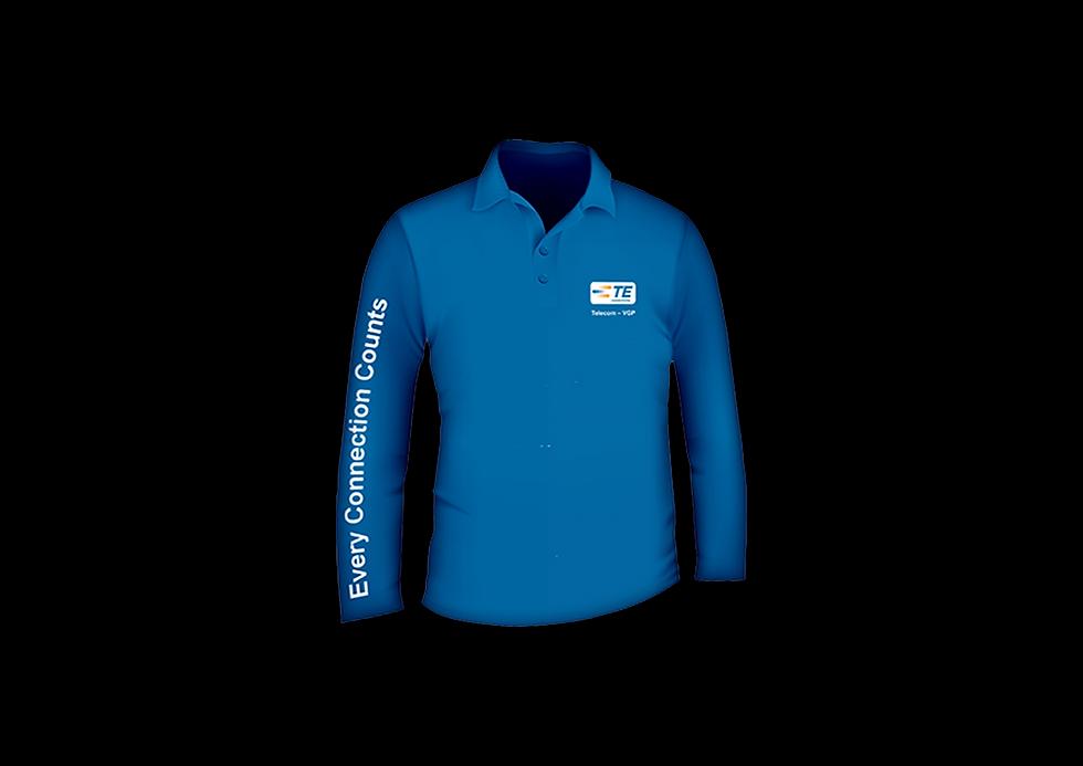 Camisa Polo Inalguração TE Connectivity
