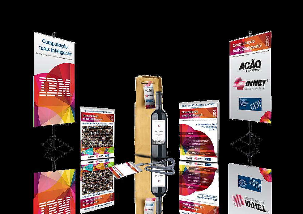 Identidade Visual Computação mais Inteligente IBM