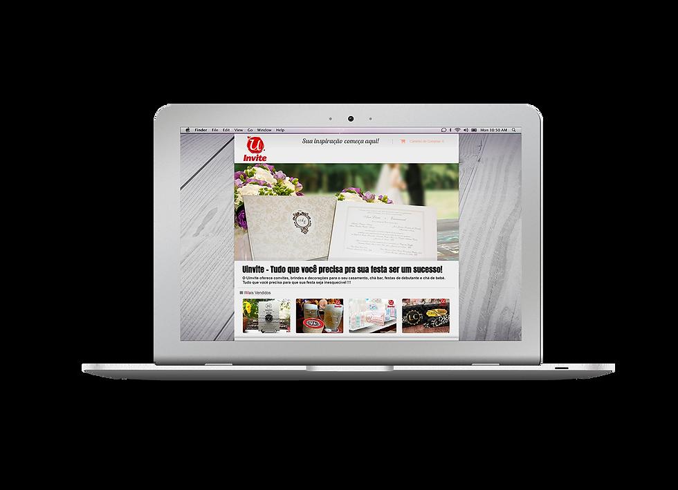Home Site Uinvite Portifólio