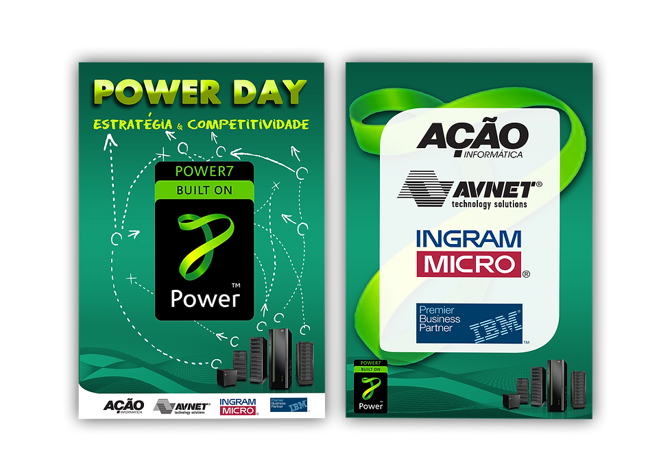 Banners POWER DAY IBM