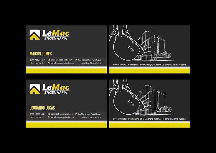 Cartões LeMac Portifólio