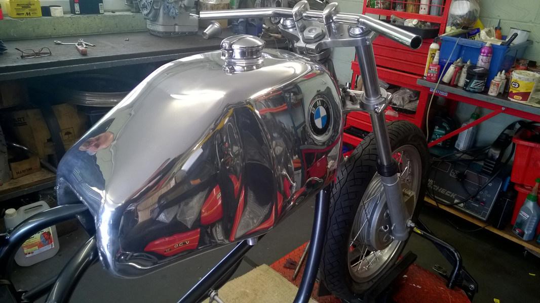 Aluminium Fuel Tank