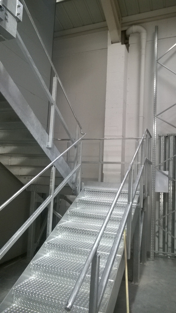 Industrial Access Staircase
