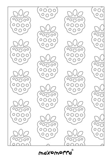Maxomorra Blackberry Colouring Page