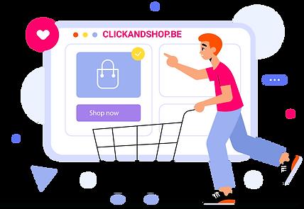 Créer sa boutique en ligne avec Clickandshop.be
