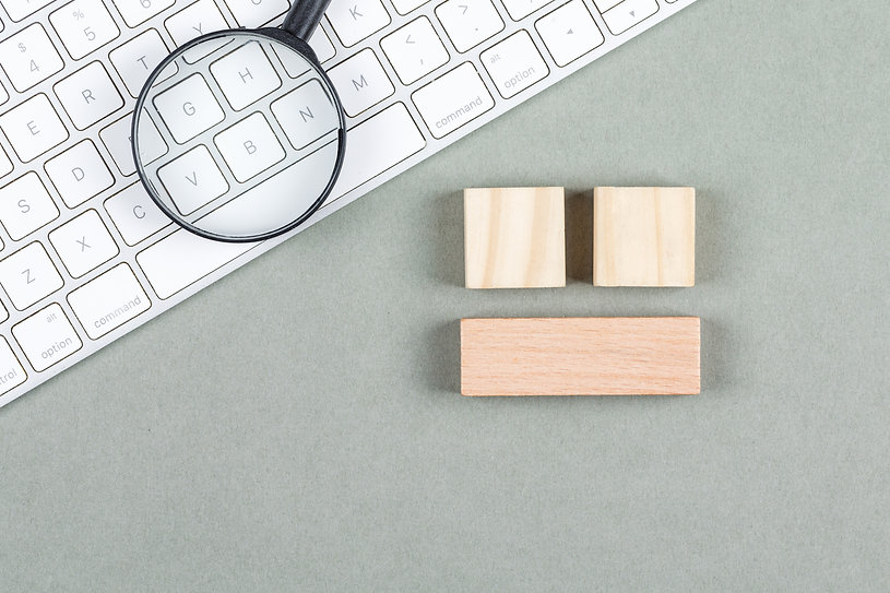 search-concept-with-magnifier-wooden-blo