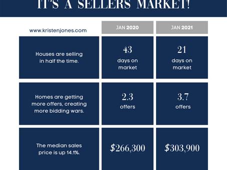 It's A Seller's Market