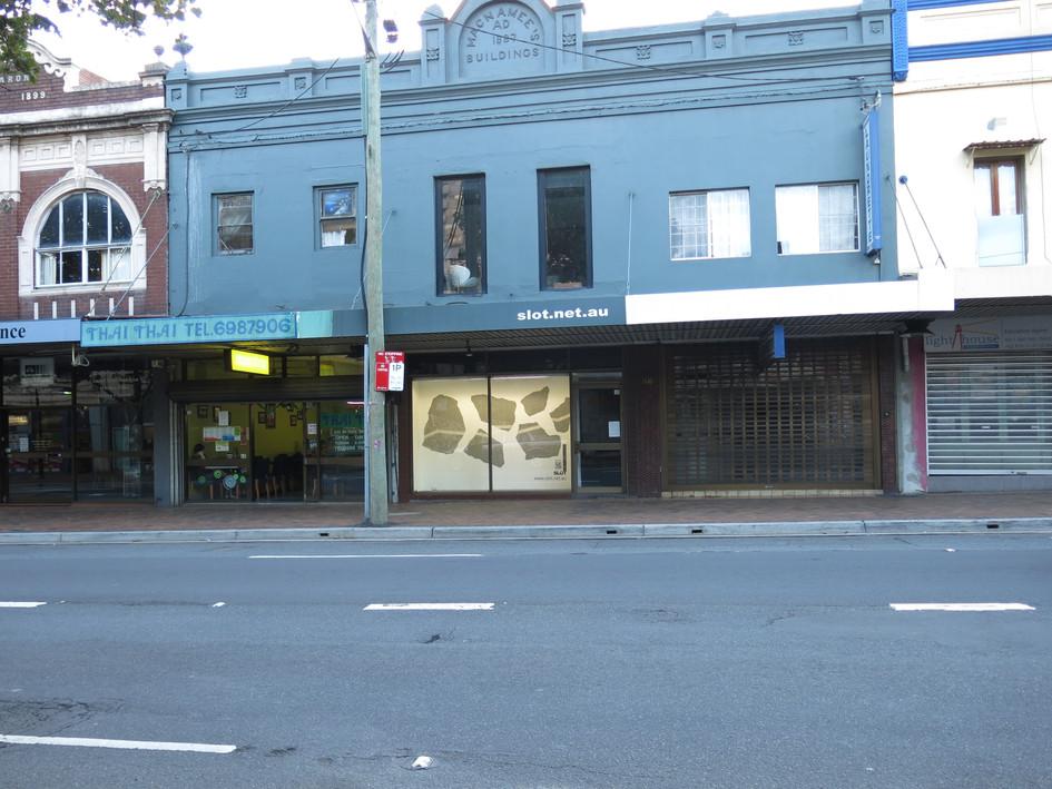 Slot Gallery, Regent Street Sydney 2013